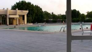 The pool in Saudi City, Jeddah Saudi Arabia